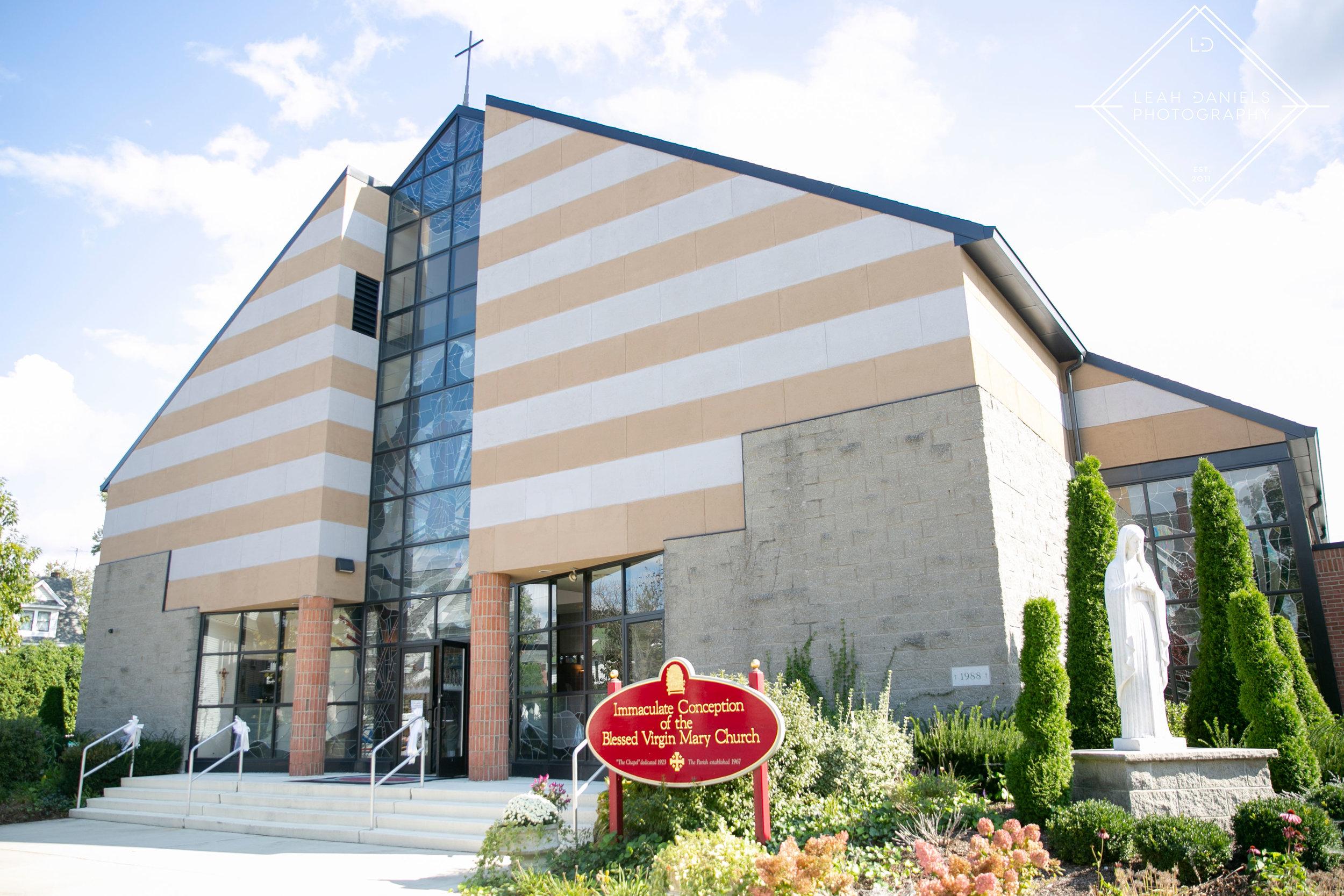Scranton Wedding Photography - Immaculate Conception Church