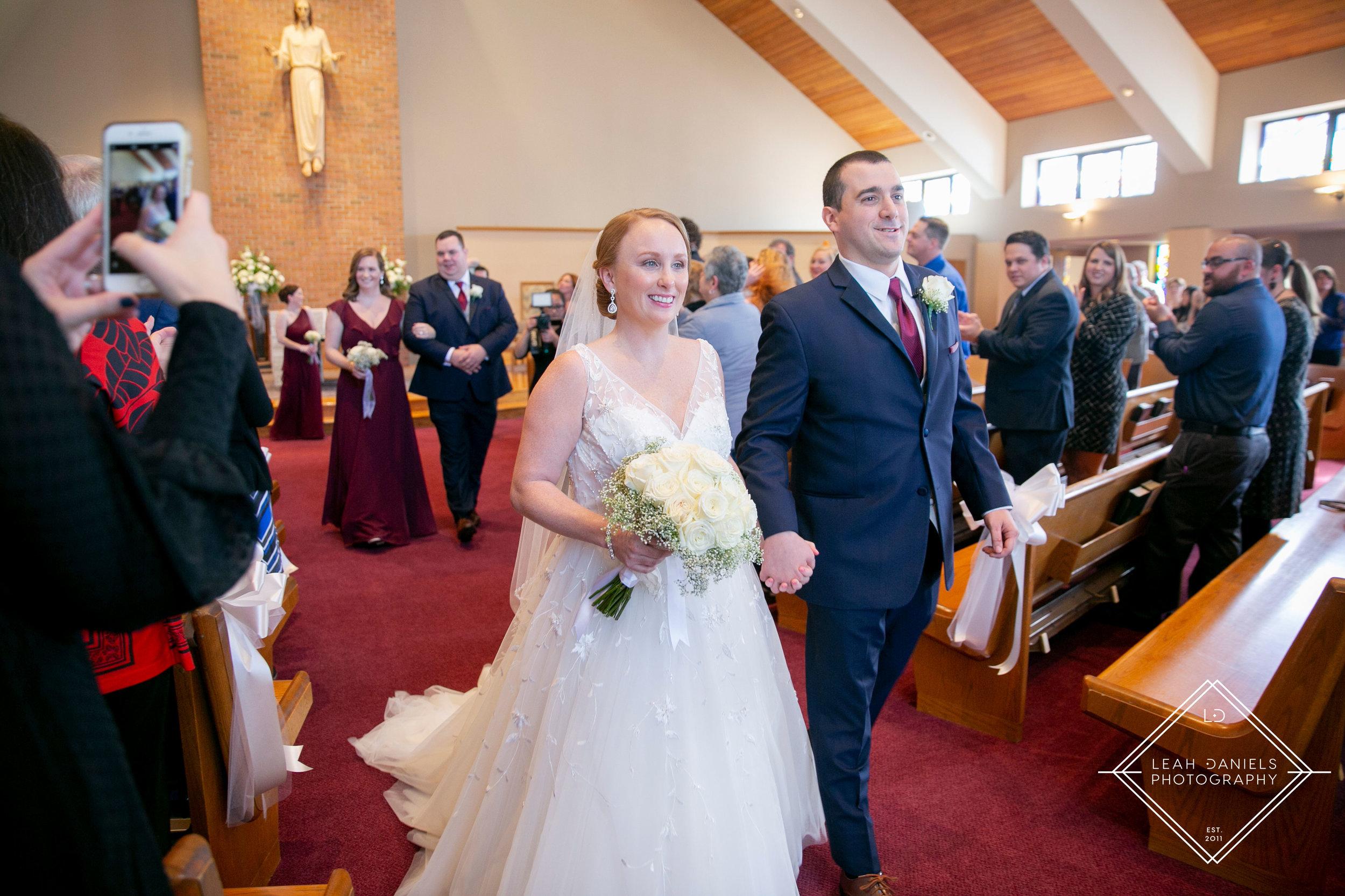 Scranton Wedding Photography - Just married