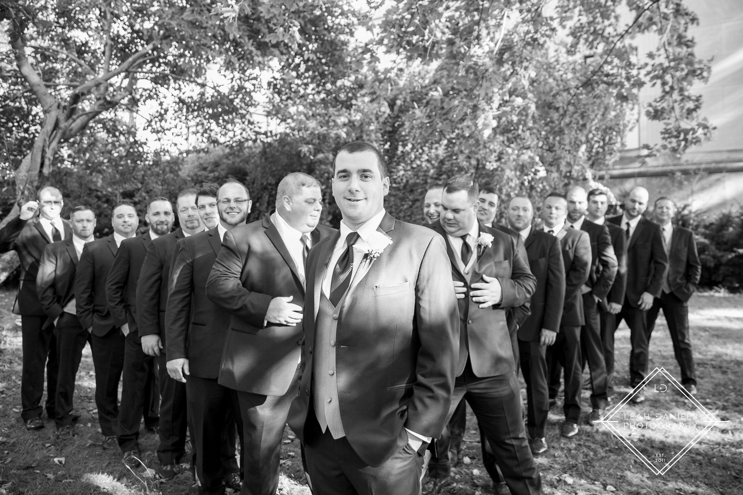 Scranton Wedding Photography - Nay Aug Park  - Groomsmen