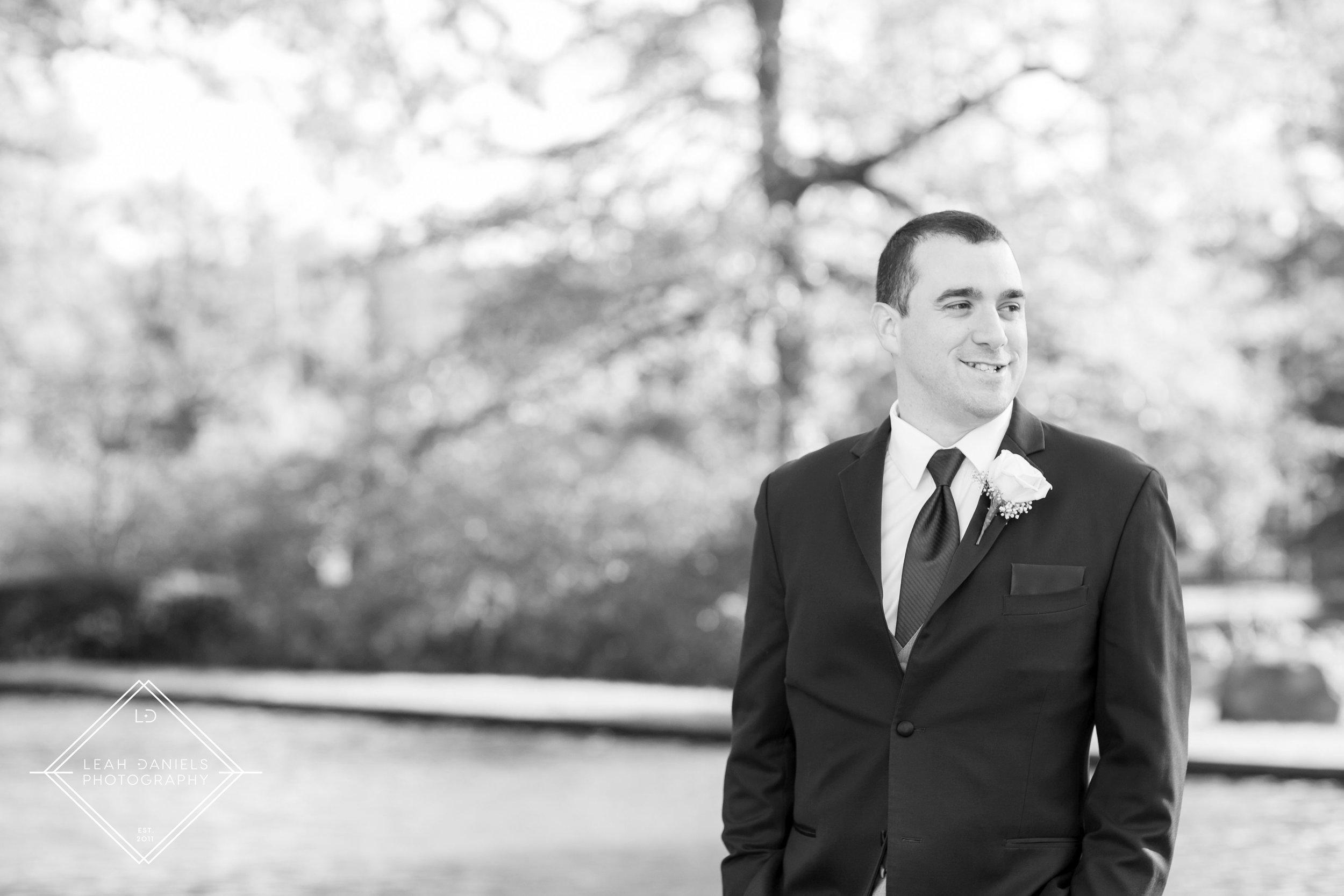 Scranton Wedding Photography - Nay Aug Park - Groom portrait