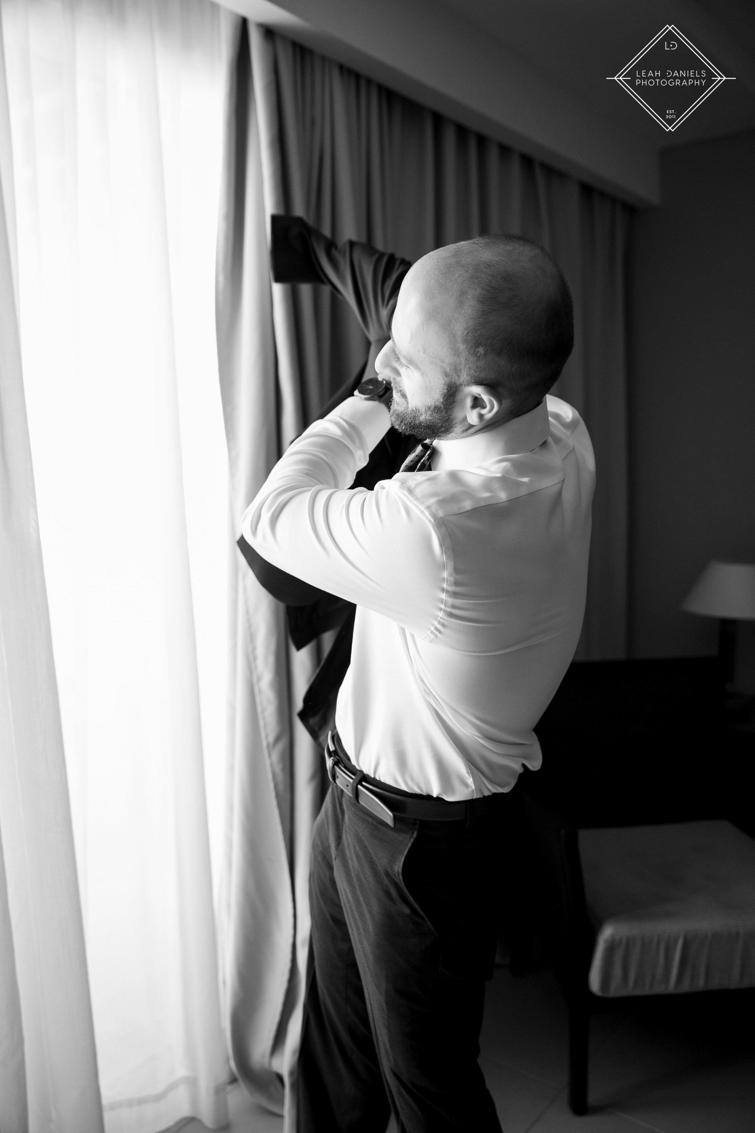 NOW Larimar Destination Wedding Photos; The Groom