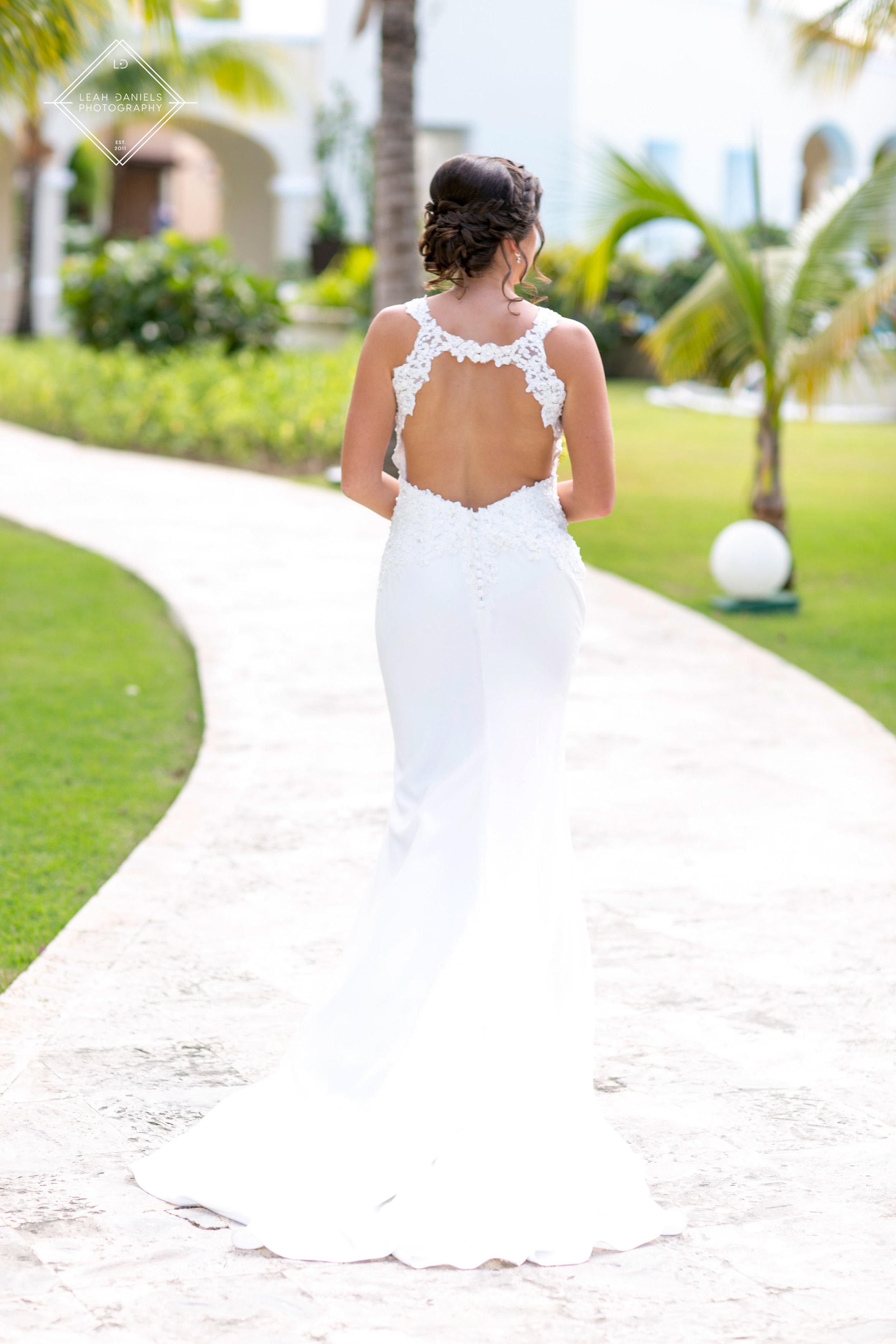 NOW Larimar Destination Wedding; The Bride