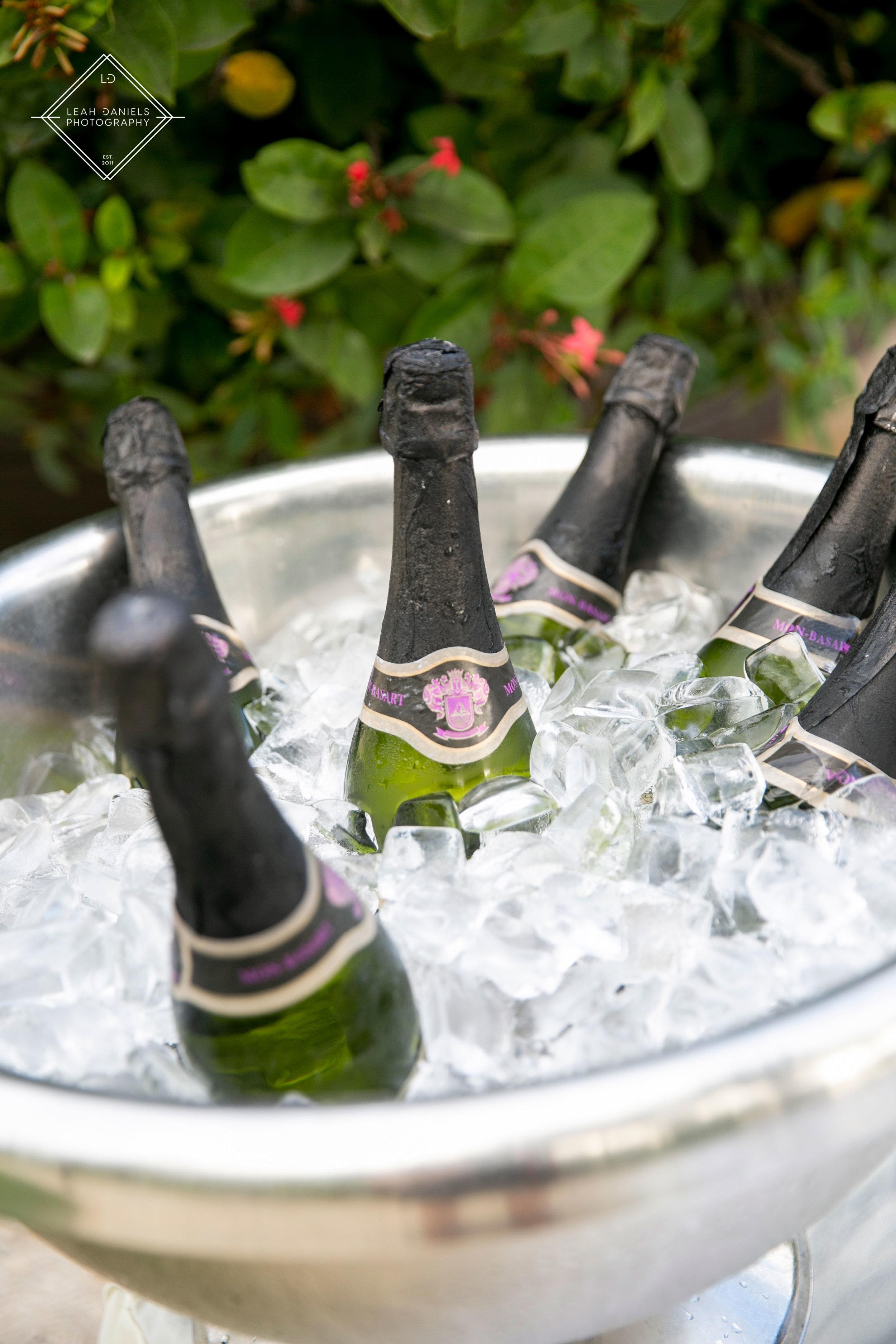 NOW Larimar Destination Wedding; Champagne