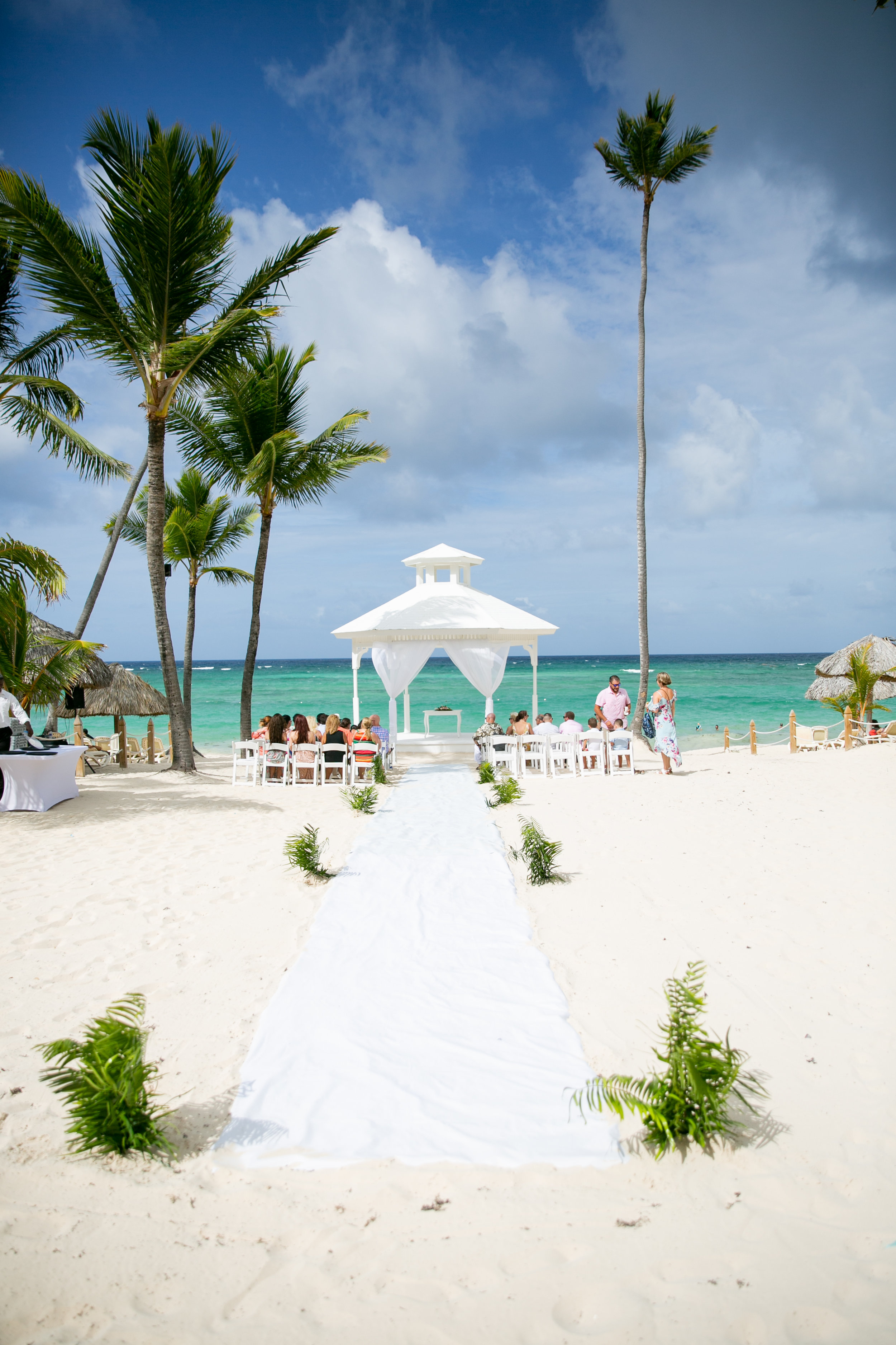 Majestic Colonial Punta Cana Destination Wedding - Beach Gazebo