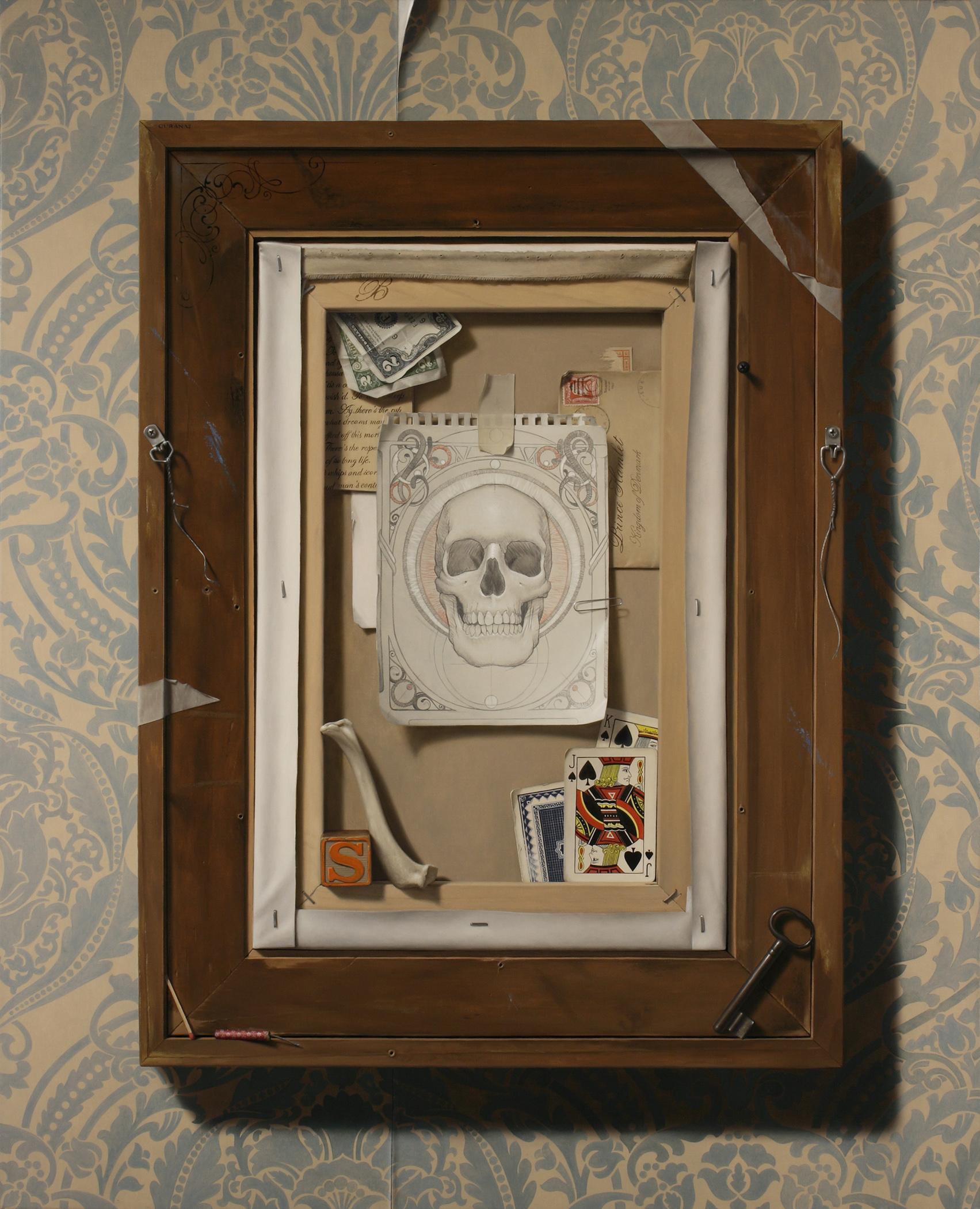 """The Vanitas of Hamlet"", oil on canvas, 32x26"""