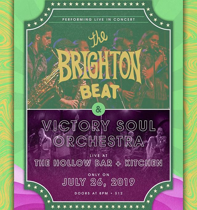 ALBANY! CAPITAL REGION! Where you at?! We cant wait to hit it this Friday night 7/26 at @thehollowalbany_ with the incredible @victorysoulorchestra opening up the show! We've got a lot of friends and family in the area, cant wait to make this an EPIC night...who's going?! . #albany #capitalregion #thehollow #thehollowalbany #funk #soul #jam #jazz #family #afrobeat