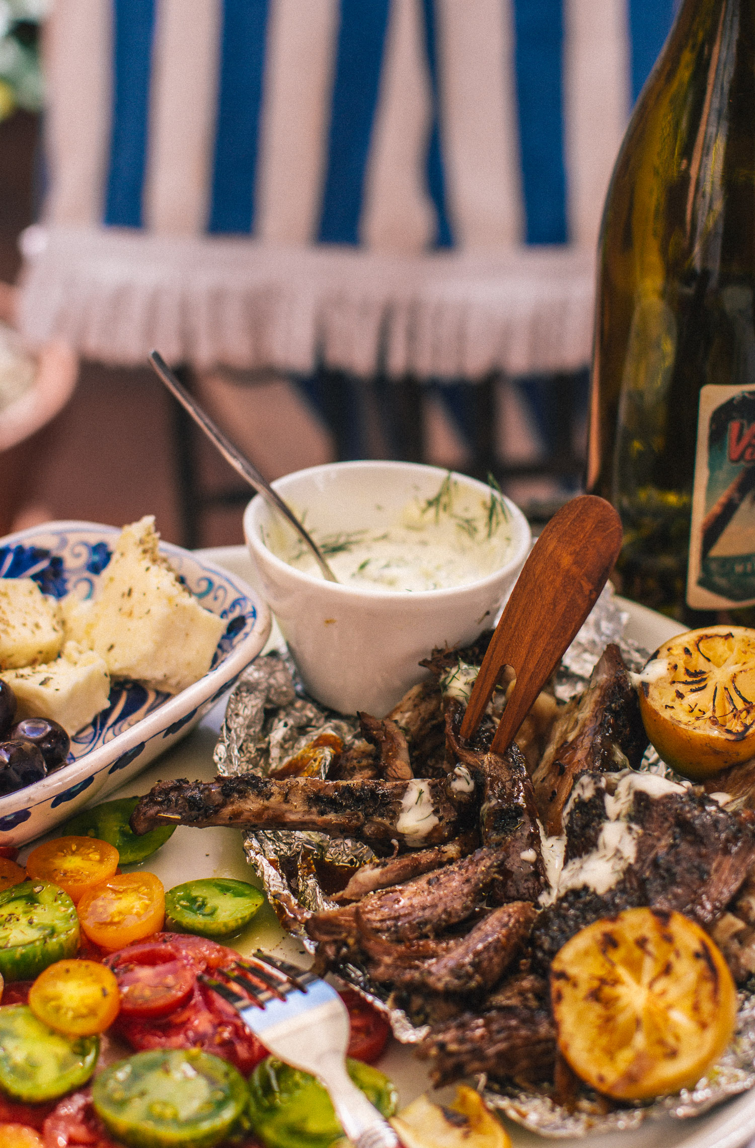 The Best Greek Slow Roasted BBQ Lamb Shoulder. Recipe, Styling, Photo by  Cle-ann