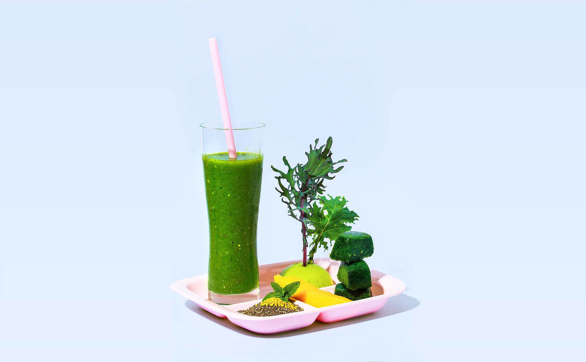 The Jeremy – Green Smoothie. Styling and recipe by  Cle-ann  for  Extraordinary Routines . Photography by  Hugh Adams .