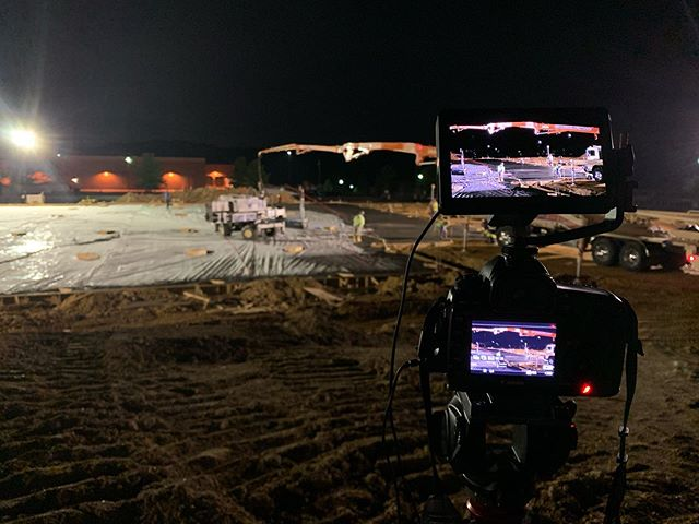 2:15 am construction shoot. @drobostorage @kelbyonepics