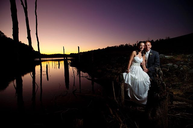 Going back alllllllll the way to 2011.  The light!! What's even better...the couple.  Just down right  an amazing people.  @drobostorage @kelbyonepics #sunsetwedding #weddingsunset #lakewedding #destinationwedding