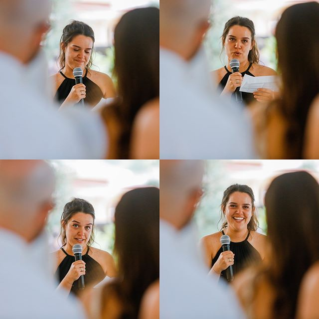 The emotions of the bridesmaid speech!  @255_milledge_ @nedza_madz