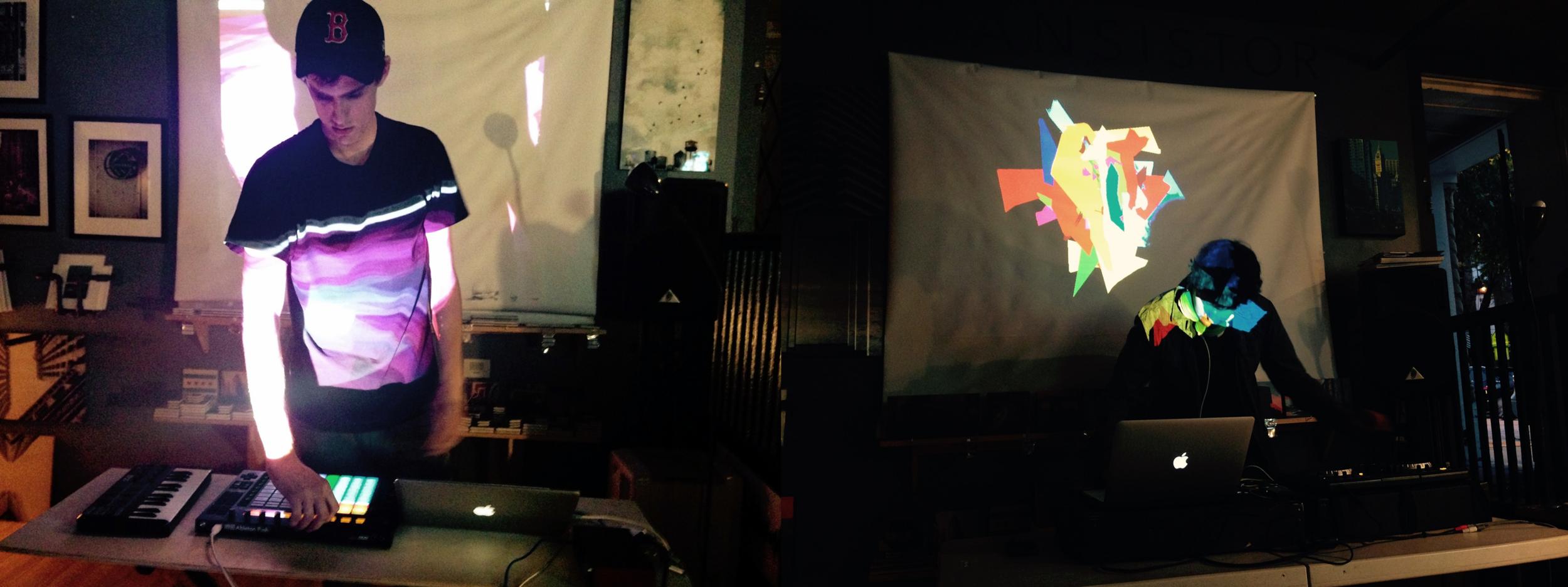 Friday night live at Transistor:  Marsden Giolas  and  Tetra f(x) .   Read more