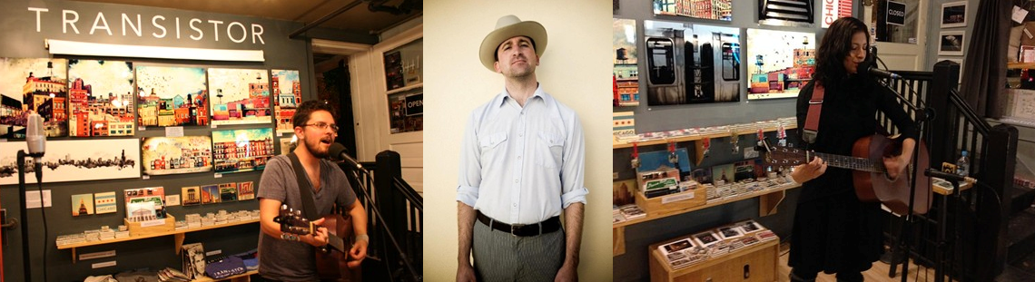 Friday night live at Transistor: dusty folk pop from  Steven Gilpin ,  Matt Campbell  and indie singer-songwriter  Randi Russo .   Read more