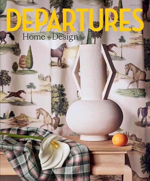 💥Thank you @danrubinstein @departuresmag for this incredible surprise! So grateful to be a part of such a beautiful cover. 🙏 📸 @maximepoiblanc