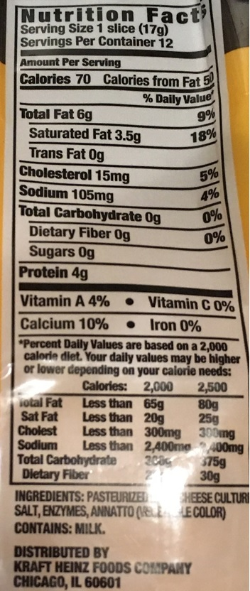 Even cheese has a warning that it contains milk.