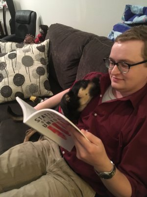 Editor  Ryan C. Bradley's work has been featured in The Missouri Review,  The Rumpus , Dark Moon Digest, and in other venues. He regularly contributes to  Wicked Horror . You can learn more about him at  https://ryancbradleyblog.wordpress.com/