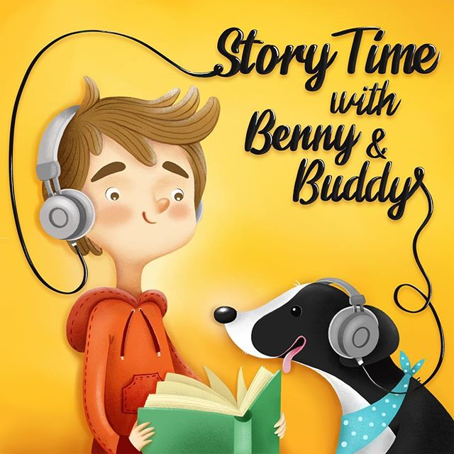Celebrate Children's Book Week with Benny and Buddy's favorite stories, like Giraffes Can't Dance and Whistle for Willie. Comment with your favorite children's books! And listen to Story Time with Benny and Buddy on Pinna! . . #PinnaAudio #PodcastsForKids #childrenspodcasts #childrensbookweek #readaloud #BennyandBuddy #StoryTime #childrensmedia