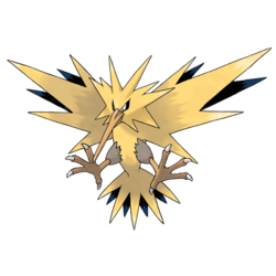 Zapdos himself (Aka Battery Jesus) also makes an appearance, but can currently only be unlocked by achieving a dreadfully high score of 100.