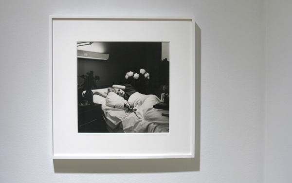 Candy Darling on her Deathbed , 1973, photograph by  Peter Hujar  courtesy of Pace/McGill Gallery