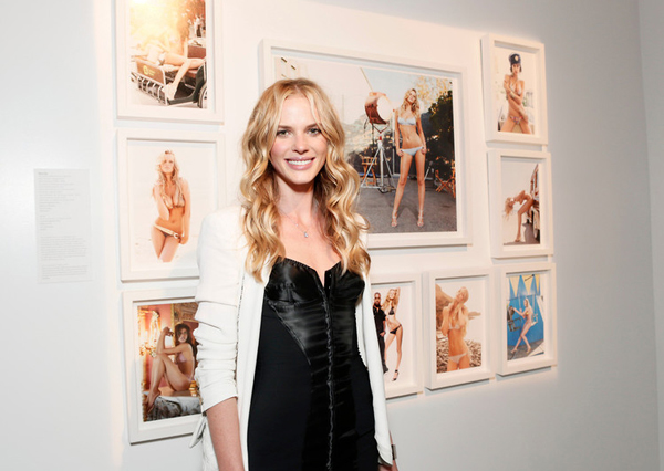 Anne Vyalitsyna attends the opening of Exposure 2 Photo Exhibit hosted  by Prevu on Thursday, June 28, 2012 in Los Angeles.(Photo by Todd  Williamson/Invision for Prevu/AP Images)