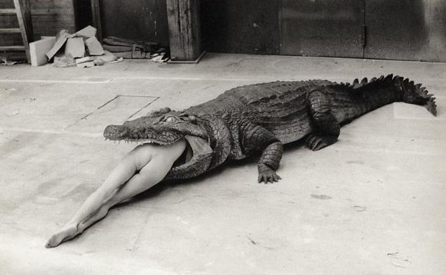 Helmut Newton   The Legend of Virginity, A Scene from Pina Bausch's Ballet, Wuppertal , 1983