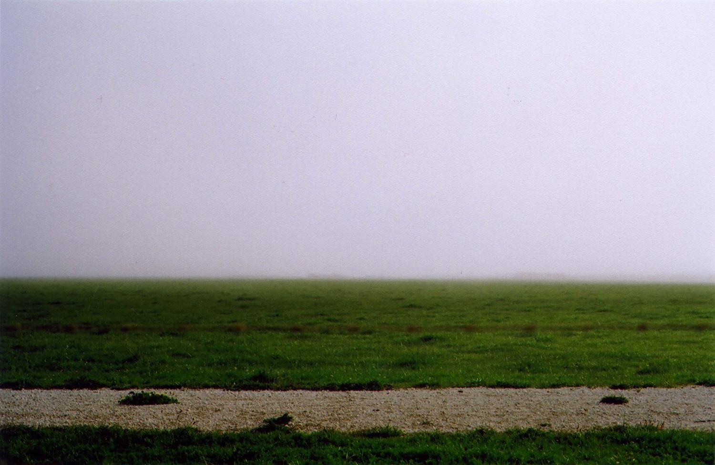 Adarsha Benjamin   Green Grass Gray Skies  2011 pigment print 26 x 24 inches (66 x 61 cm) Edition of 10