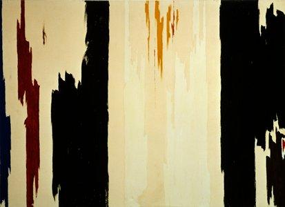 Clyfford Still,  Untitled , 1960, Oil on Canvas