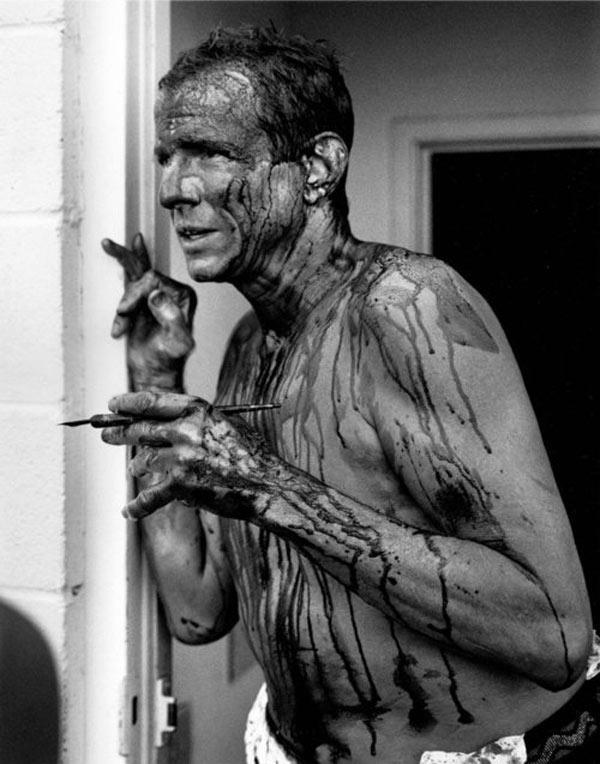 Peter Beard, Blood Portrait , 1998 © David Fahey