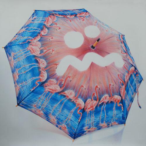 "Eric Yahnker ""Glumbrella"" – courtesy of Ambach & Rice"