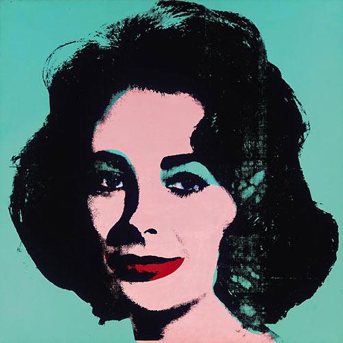 Andy Warhol,  Liz (Colored Liz) , 1963