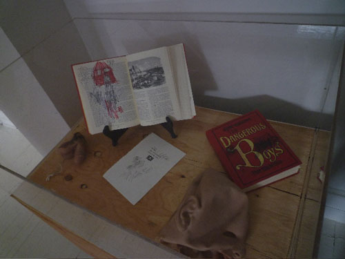 The Dangerous Book Four Boys, 2010 (installation view)