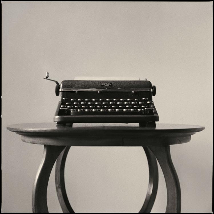 Jim Herrington   Norman Mailer's Typewriter, Brooklyn, New York, 1990   22 x 33 inches pigment print