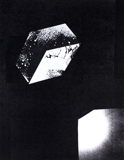 Reuben Lorch-Miller,  Psychic Automatism , 2010, collaged photocopies, 14″ x 11″