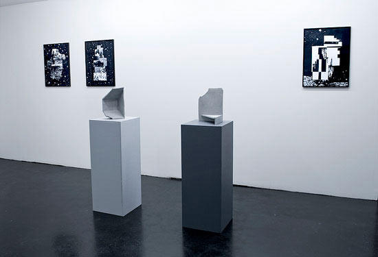Reuben Lorch-Miller,  In Cryptic Rays , Installation View, 2010