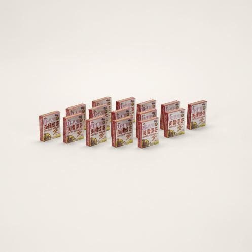 "Taryn Simon,  Viagra, China (labeled ""USA American Visagra""; counterfeit) , 2010, Archival inkjet print"
