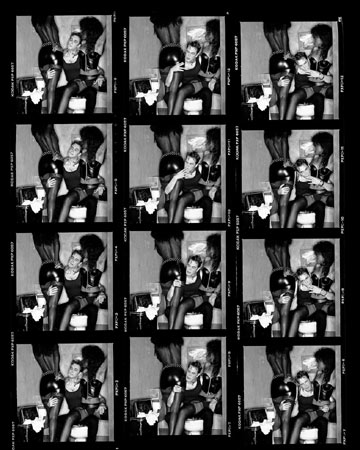 Jeff Koons Contact Sheet,  Los Angeles, 1988