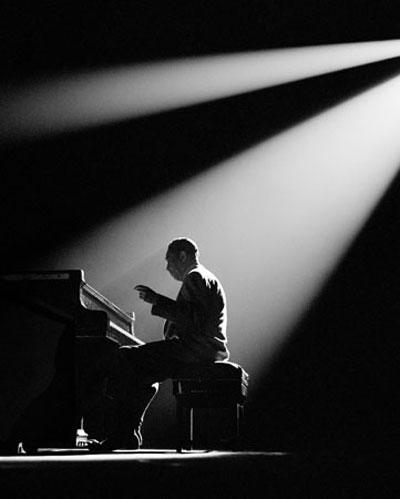 Herman Leonard  Duke Ellington, Paris, 1958