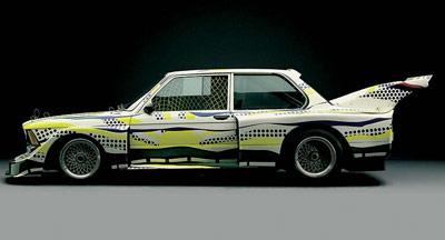 Lichtenstein Art Car, 1977, BMW 320i