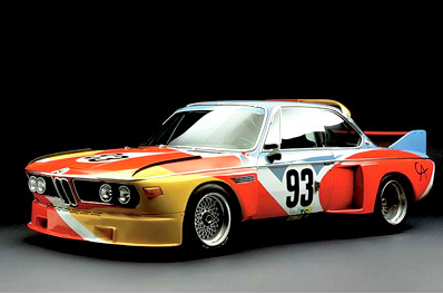 Calder Art Car, 1975, BMW 3.0 CSL