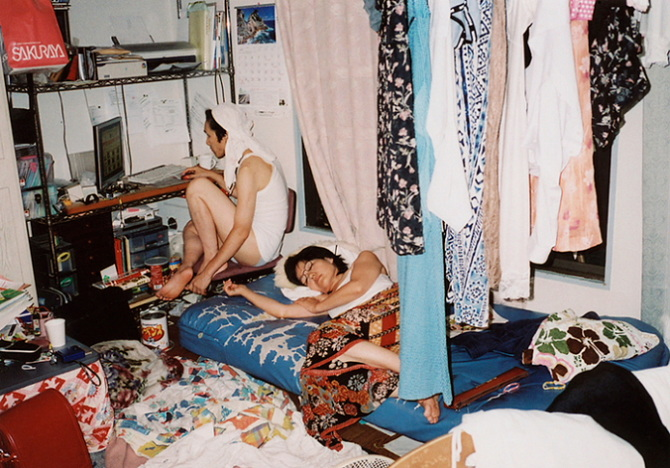 Motoyuki Daifu . My Family is a Pubis, So I Cover It in Pretty Panties. 2013. image courtesy of Little Big Man.