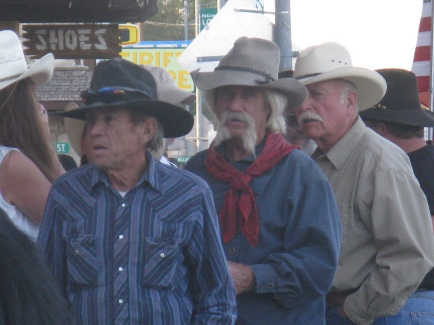 I just love the characters you see on Main Street during the Lone Pine Film Festival each October! Photo by author.
