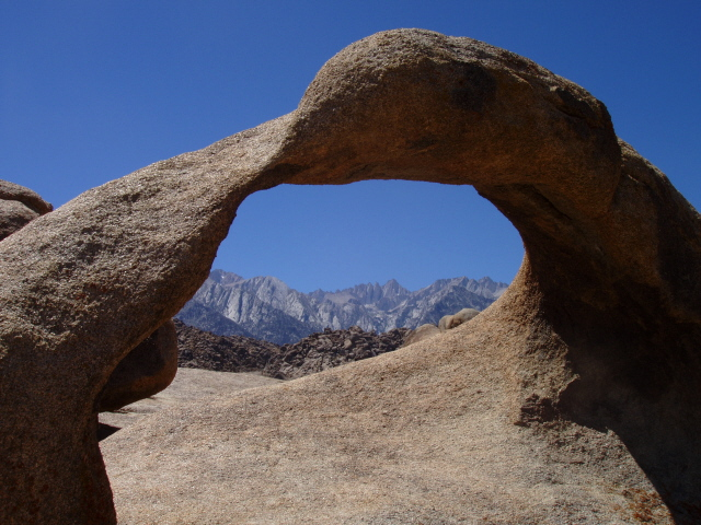 Mobius Arch - the Arch that frames Mt. Whitney