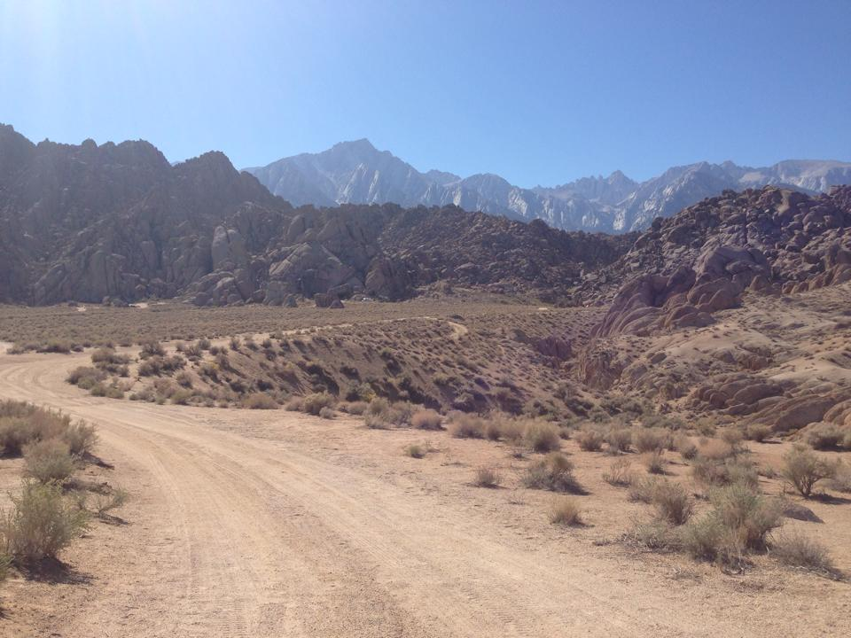 """Where """"How the West was Won"""" was filmed, Alabama Hills"""