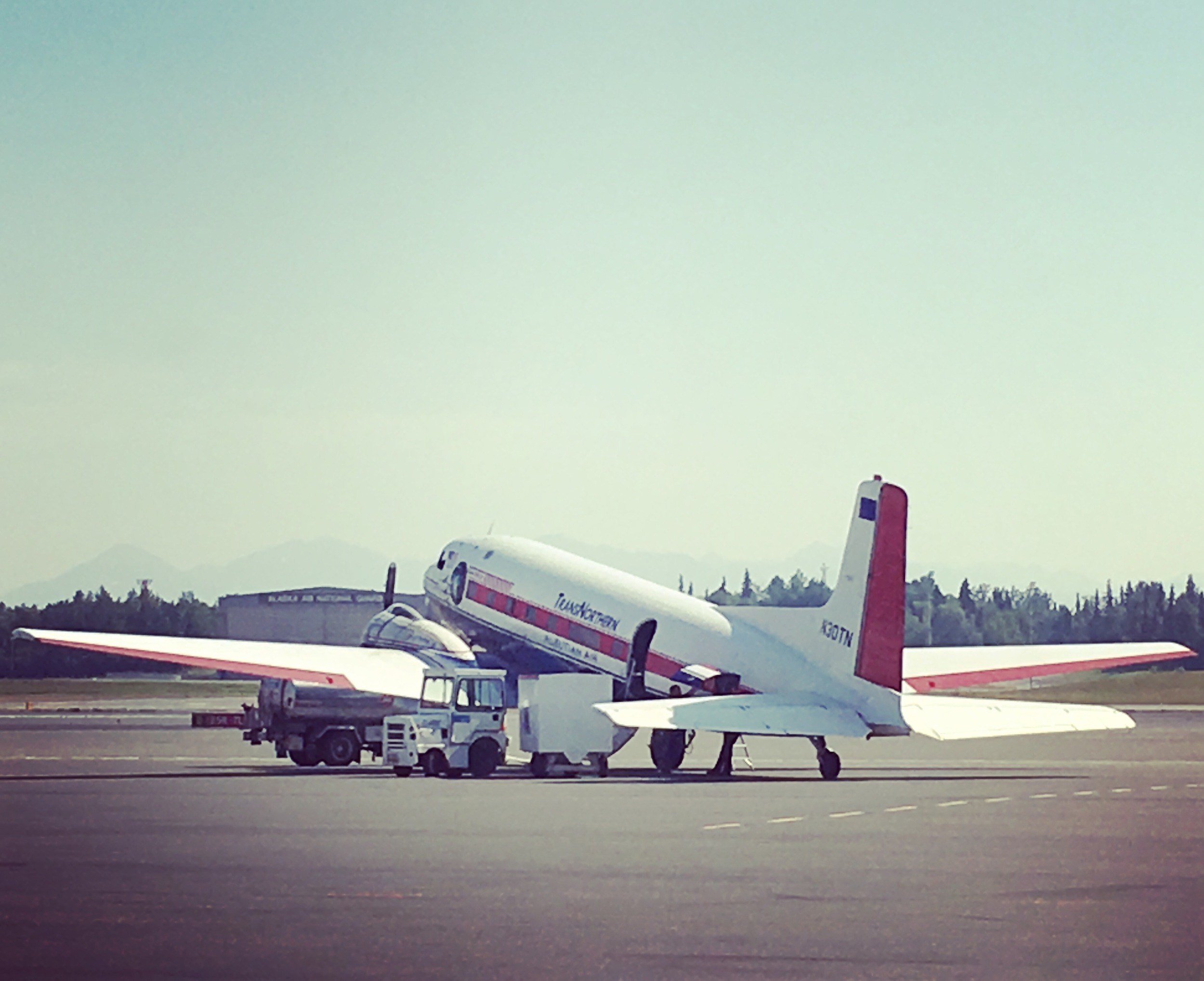 Super DC-3 flies 19 passengers for TransNorthern Airlines