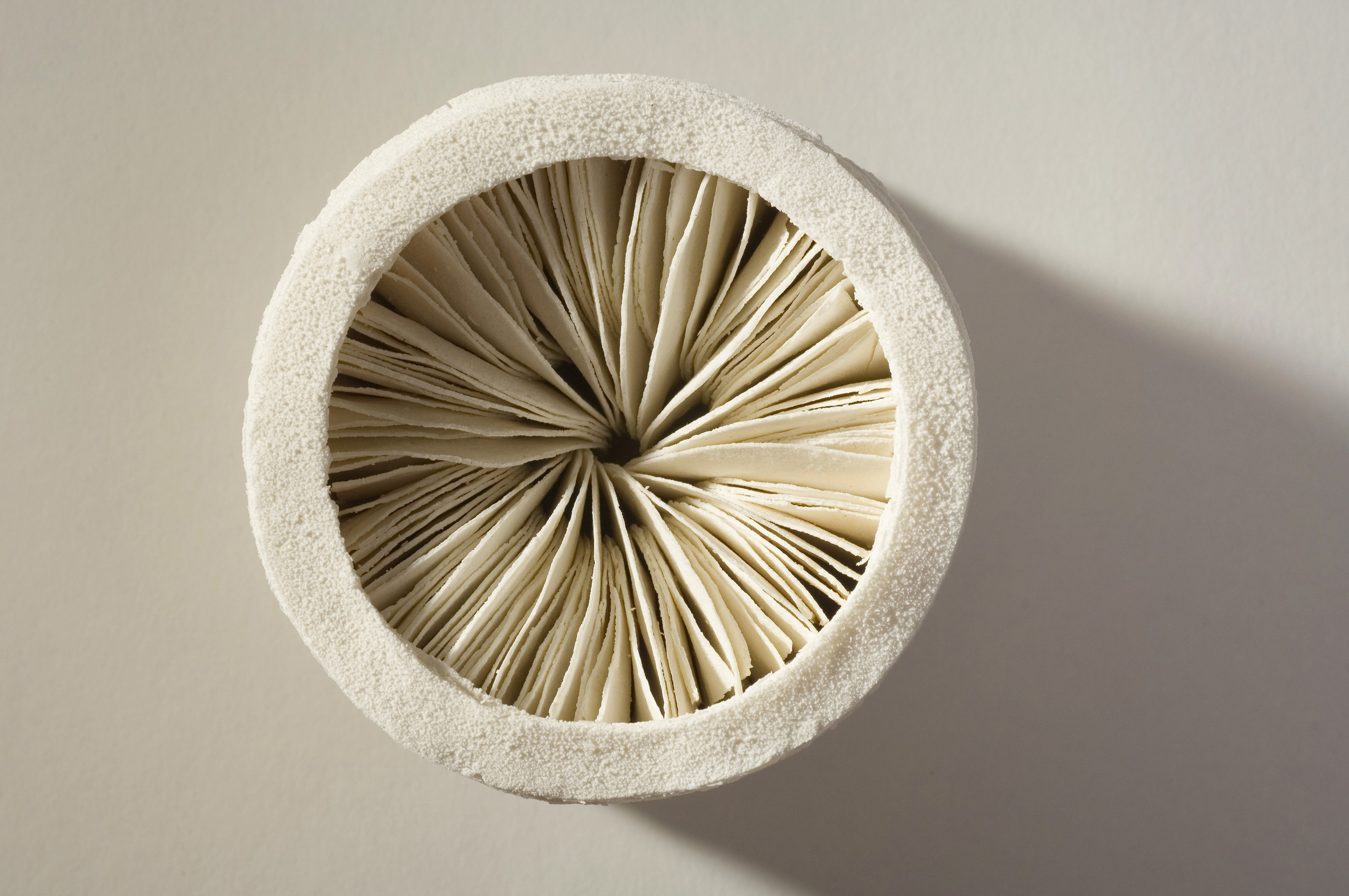 Interior Series,  2006, artist blend glaze material, 9cm x 8cm x 8cm