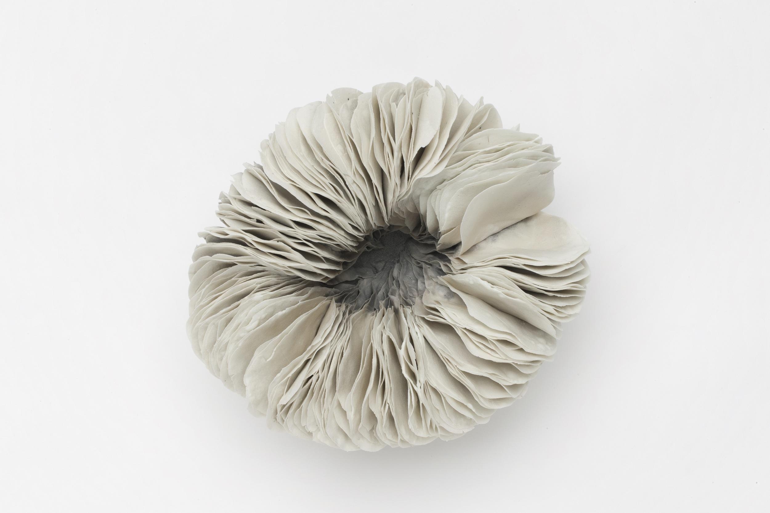 Vibration Series,  2010, artist blend glaze material, 9cm x 17cm x 14cm