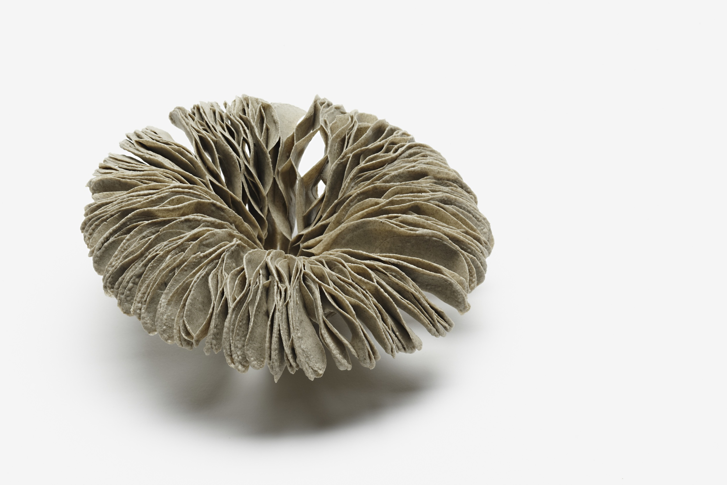 Vibration Series , 2012, artist blend glaze material, 5cm x 15cm x 15cm