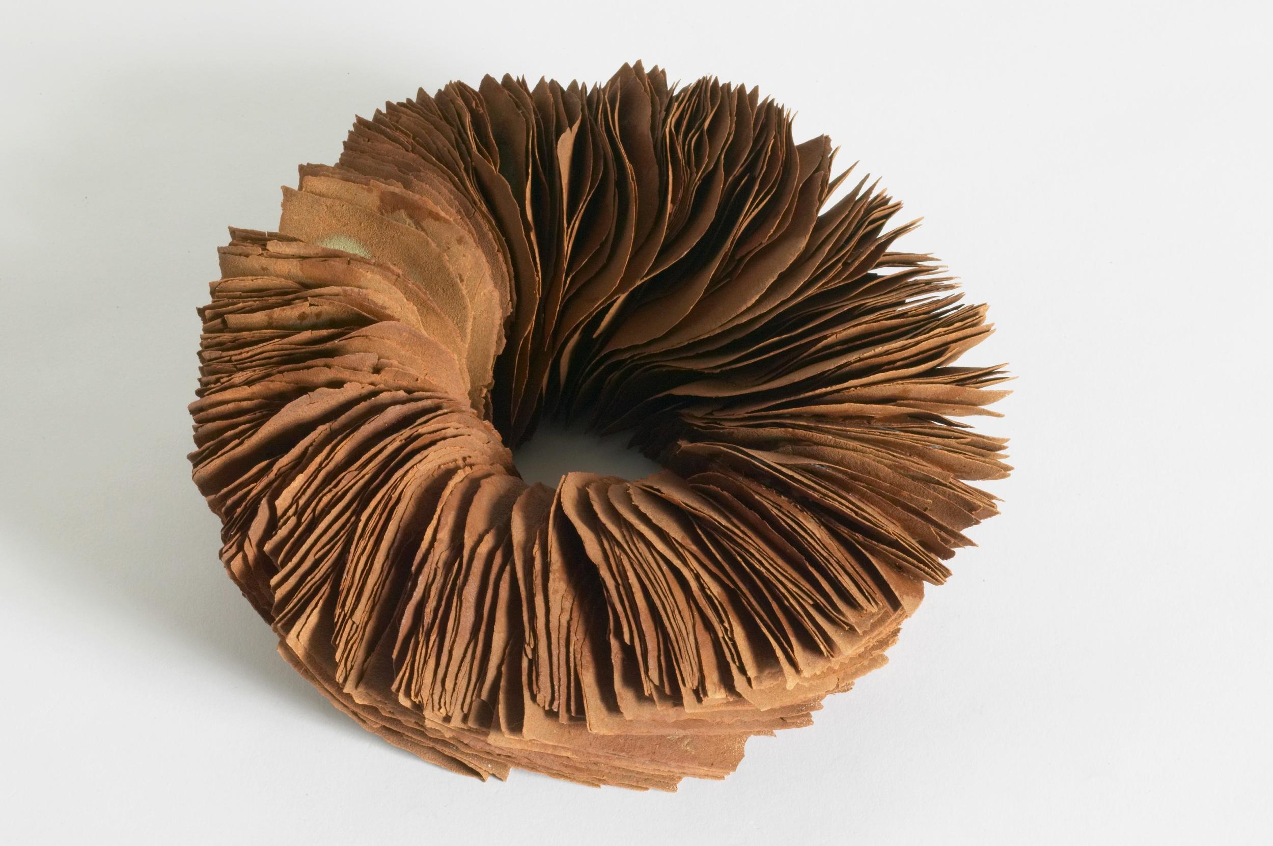 Element (of time) I,  2005, artist blend glaze material, 8cm x 20cm x 19cm