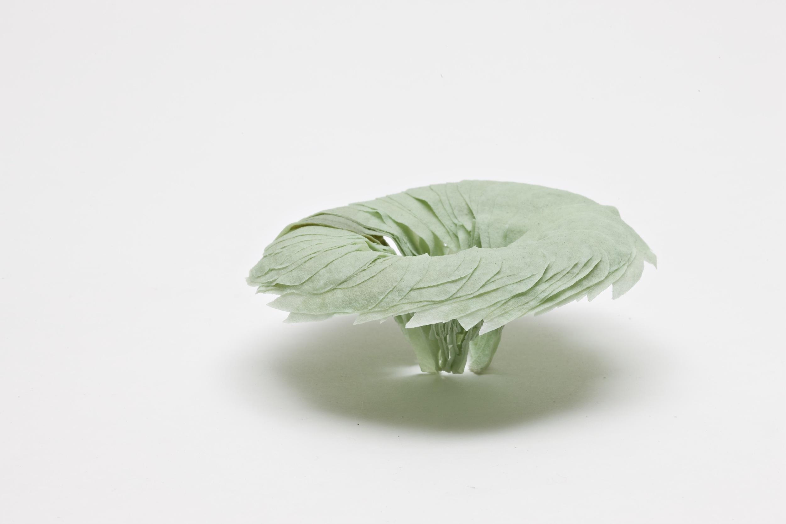 Eddy , 2008, artist blend glaze material, 7cm x 9cm x 9cm