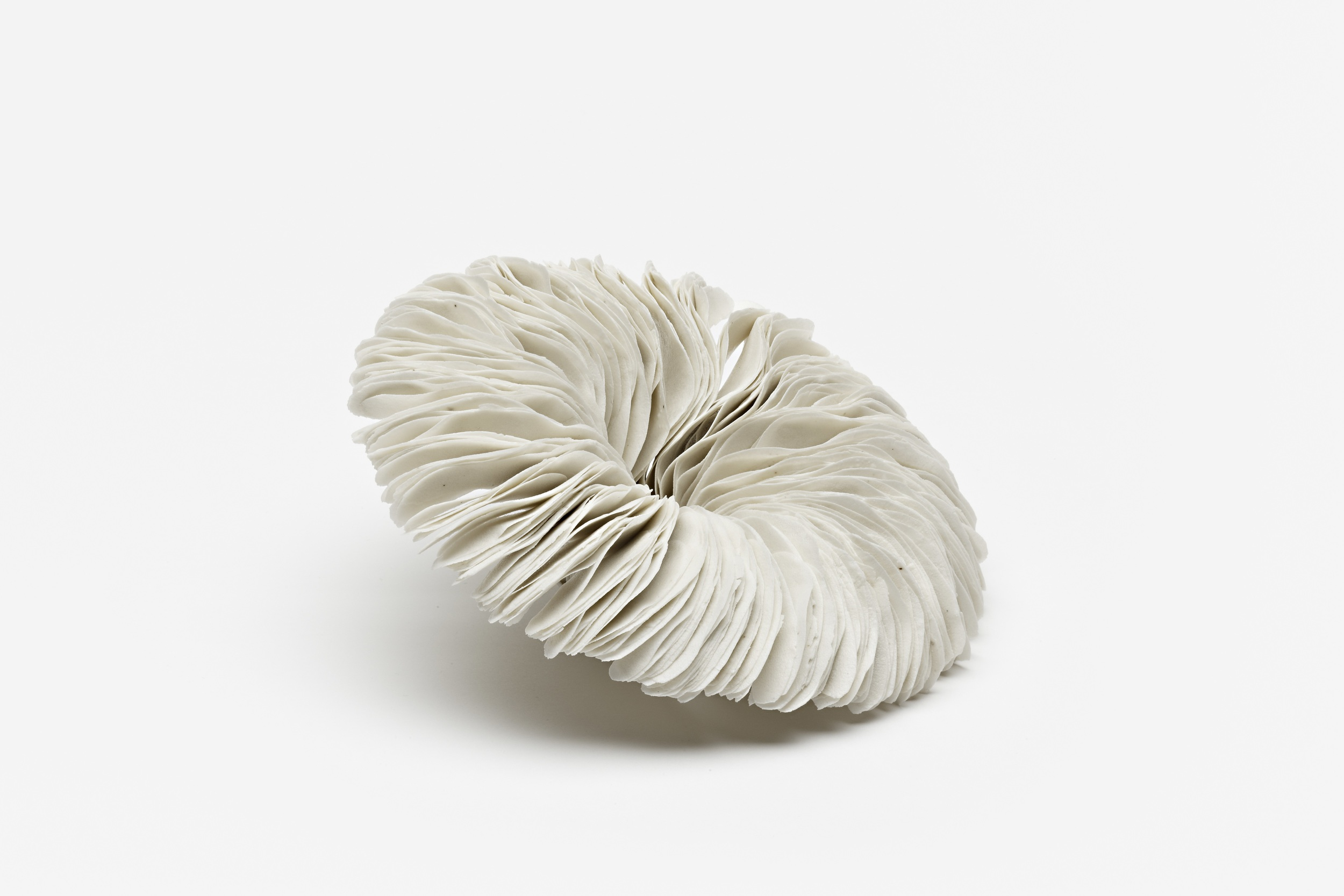 Vibration Series,  2010, artist blend glaze material, 7cm x 14cm x 15cm